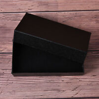 rectangle black watch packaging carton gift box jewelry accessories box neS*IJ