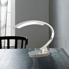 WOFI LED Lámpara de MESA Segura 1 Luz Interruptor Níquel diseño Oficina exklusiv