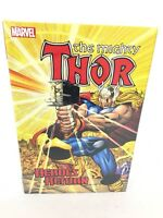 The Mighty THOR Heroes Return Omnibus Collects #1-35 Marvel HC Sealed $125
