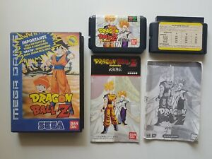💥Dragon Ball Z MEGA DRIVE| PORTUGAL EXCLUSIVE (2nd VERSION)*VERY RARE/COMPLETE*