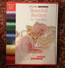 Bernina Embroidery Card #527 Beautiful Borders for Artista 165 170 180 200