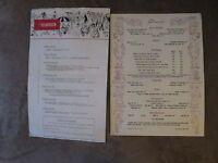 The Islander Hotel & Sea Isle Restaurant Event Schedule & Menu May 9-15, 1955
