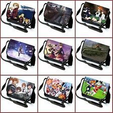Anime GIRLS und PANZER Miho/anchovy Messenger Bag Satchel Laptop Bag#16-H-2