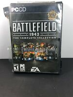 Battlefield 1942 The Complete Collection PC CD ROM EA (Disc 1-3 & 6-8)