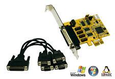 EXSYS ex-44044-2 - pci-express 4x série rs-232 carte