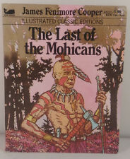 1979 Illustrated Classics-LAST OF THE MOHICANS-James Fenimore Cooper-Moby Books