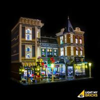 LIGHT MY BRICKS - LED Light kit for Lego Assembly Square 10255 - LEGO LED Light