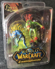 World Of Warcraft Series #4: Fish-Eye & Gibbergill Action Figure Set Brand New