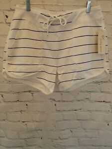 Nanette Lepore Play Womens Super Soft Stripped Shorts - Brand NEW