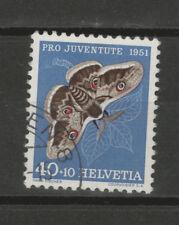 Schweiz Michel-Nr. 565 gestempelt, Schmetterling, Pro Juventute 1951