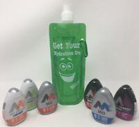 Mio Liquid Water Enhancer Variety 6 Pack W/ Bonus Nozlen Water Bottle