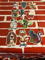 Lot of 11 Stickers for Skateboard Sticker Laptop Luggage Bike Decals mix*RANDOM*