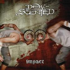 DEW SCENTED-IMPACT-CD-thrash-death-metal-hateshere-the crown-no return