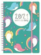 2020-2021 Academic Mid Year A5 One Day To a Page Student Diary Spiral Wire Bound