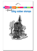 Stampendous Cling Vintage Victorian Rubber Stamp **FREE P&P**