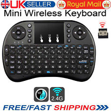 Mini Wireless Keyboard Touchpad Air Mouse Remote Keypad For Android PS3 TV BOX