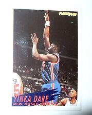 CARTE  NBA BASKET BALL 1995  PLAYER CARDS YINKA DARE (147)