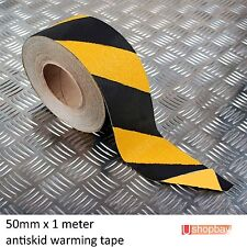 "Anti Skid Non Slip Safety Tape 50mm (2"") wide Self-adhesive Hazard Strip"
