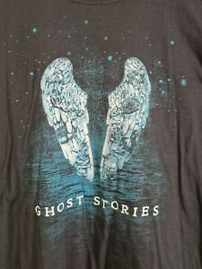 Coldplay Ghost Stories 2014 Sydney Enmore promo tour concert T-shirt
