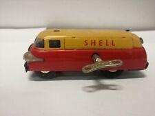SCHUCO SHELL TRUCK TANKER VARIANTO 3046 CLOCKWORK WINDING KEY 1956 CAR MODEL