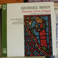 Georges Migot Premier Livre d´orgue Yvonne Monceau orgue Kern de Neudorf LP M