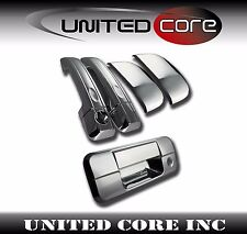 For Toyota Tundra Chrome Door Handle Cover Chrome Tailgate 07-13