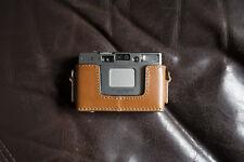 Handmade Genuine Real Leather Half Camera Case Bag Cover for MINOLTA TC-1