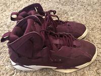 Nike Air Jordan True Flight Basketball Shoes Sneakers Bordeaux 343795-625 SZ 6.5