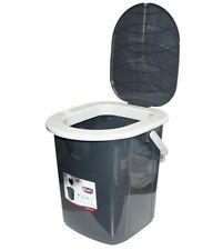 Portable Toilettes Touristique 22L Camping Seau Siège Amovible Couvercle Voyage