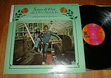 """SONNY & CHER 1972 """"All I Ever Need Is You"""" LP w A Cowboys Work Is Never Done NM-"""