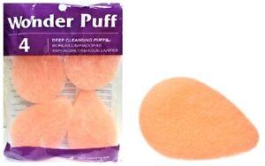 WONDER PUFF DEEP EXFOLIATING CLEANSING PUFFS (4-ct) - FREE SHIPPING