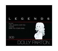 Dolly parton Legends 3cd box-set sony records 2005 rar! OVP