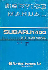 1975 Subaru Shop Manual Supplement Also need for 1976 Repair Service 1400 DL GF