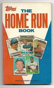 1981 TOPPS - THE HOME RUN BOOK - 96 PAGES - HANK AARON WILLIE MAYS MICKEY MANTLE