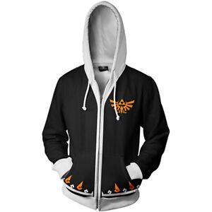 The Legend of Zelda Cosplay Hoodie 3D Printing Hooded Sweatshirt Jacket Coat