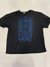Vintage Look Voltron Cool Graphic Large Print T-Shirt men's Size 2Xlarge (H42)