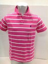 Polo Ralph Lauren Stripe Mesh Mens Polo-Shirt, Custom Fit Size Medium