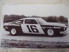 1974 AMC MATADOR NASCAR 11 X 17  PHOTO /  PICTURE