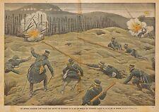 CHINE HANYU PINYIN PORT-ARTHUR GUERRE RUSSIE JAPON ILLUSTRATION DE DAMBLANS 1904