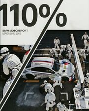 110% bmw motorsport Magazine 2012 d + gb 211 páginas 0,98 kg m3 DTM de carreras