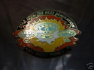 Star Trek Next Generation All Good Things Episode Pin STPIN8502