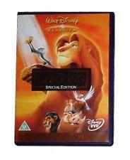 THE LION KING 2-DISC SPECIAL EDITION WALT DISNEY GENUINE R2 DVD VGC