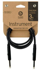 Planet Waves 3' Straight Classic Series Patch Cable - P/No:- PW CGTP 03