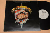 SLADE LP WE'LL BRING THE HOUSE DOWN 1°ST ORIG 1981 EX CONDITION