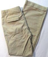 Banana Republic Womens Dress Pants Martin Fit Khaki Size 10 Chinos Beige Stretch