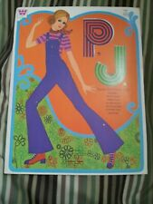 P.J. Cover Girl Paper Dolls Whitman 1971 #1981 Unused Barbie Mod
