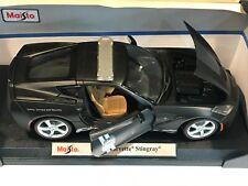 MAISTO 2014 BLACK Police Corvette 1/18 SPECIAL EDITION