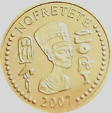 TOGO = 2007 = 1500 FRANCS = NOFRETETE = NEFERTITI = GOLD PROOF
