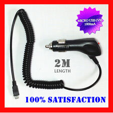 Premium Car Charger for Samsung Galaxy Grand 2 Note 2 S4 S3 S2 i9500 i9300 N7100