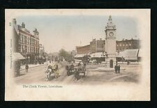 London Kent LEWISHAM The Clock Tower Used 1905 PPC local pub P.S. & V.